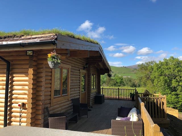 """The Stable"" Luxury Lodges with Hot tubs"