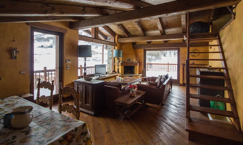 Luxury MountainHut, View, Garage - Sestriere - Casa