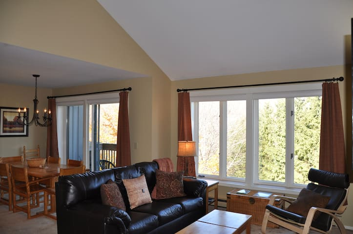 Sugarbush Slopeside 2BR/2BA Condo