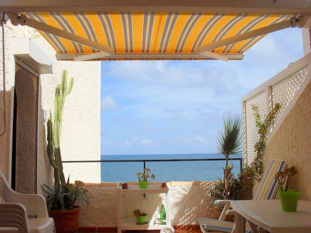 Ático con encanto con vistas al mar