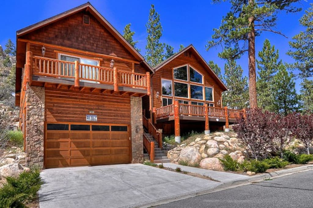 Gold Rush Resort With Spa And Pool Table Houses For Rent In Big Bear Lake California United