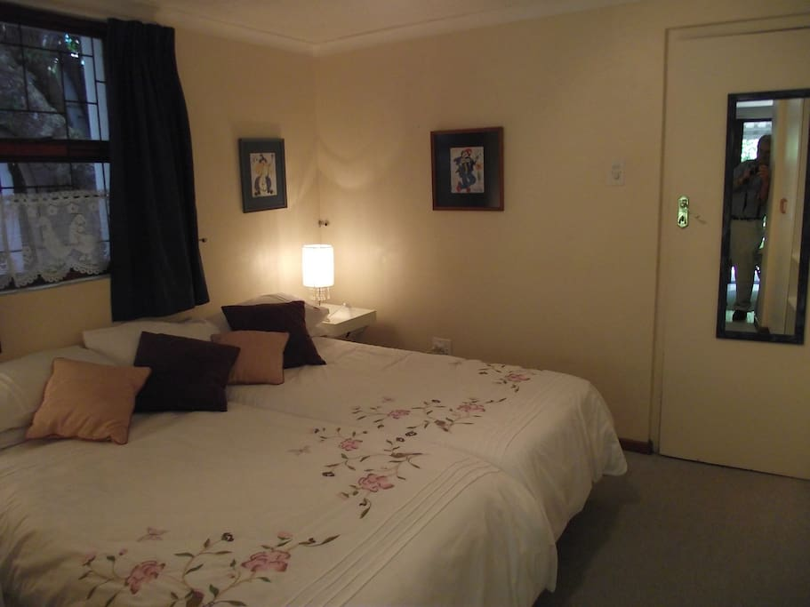 Bedroom in Twin Unit