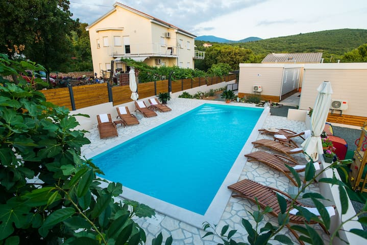 """Holiday home """"Trend 4"""" with pool"""