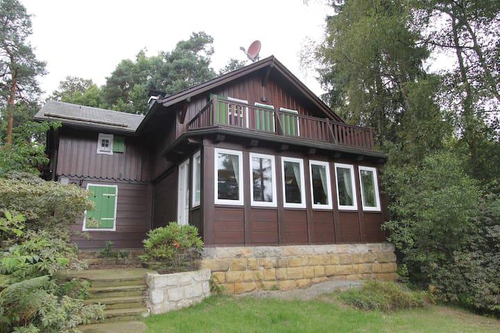 Ferienhaus Schrammsteinblick 8 Pers - Bad Schandau - House