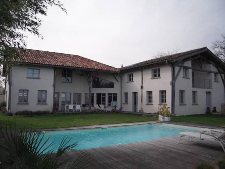 Villa de charme proche Toulouse / séjour famille