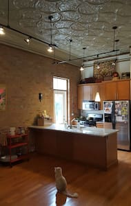Retro 1BR with private bath in heart of West Town! - Chicago - Condominium