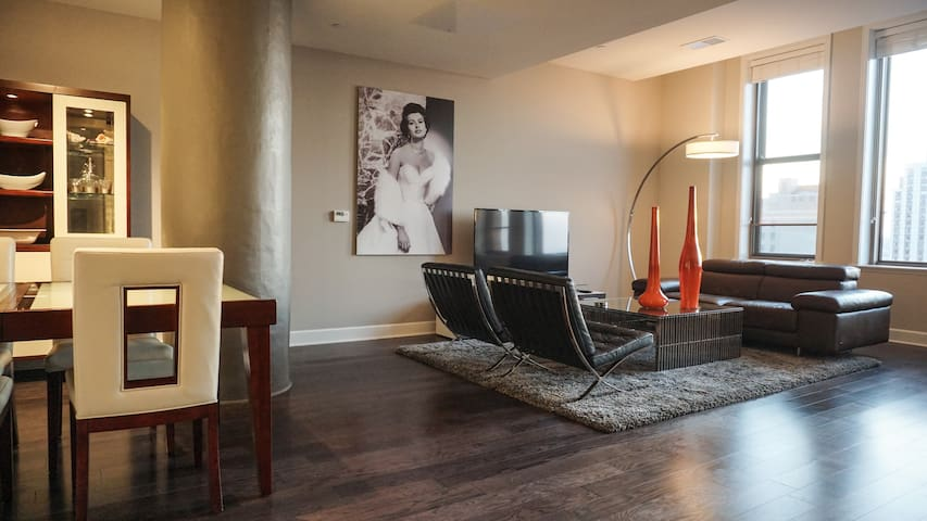 Sibley Square Penthouse Unit in Downtown Rochester