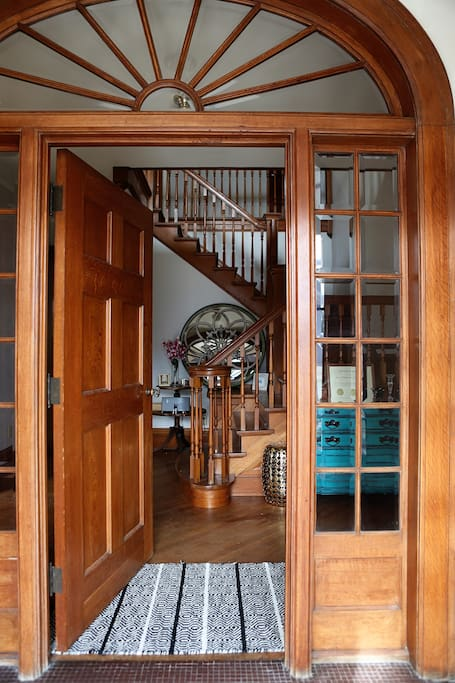 The house was built in 1924 and features all original woodwork.