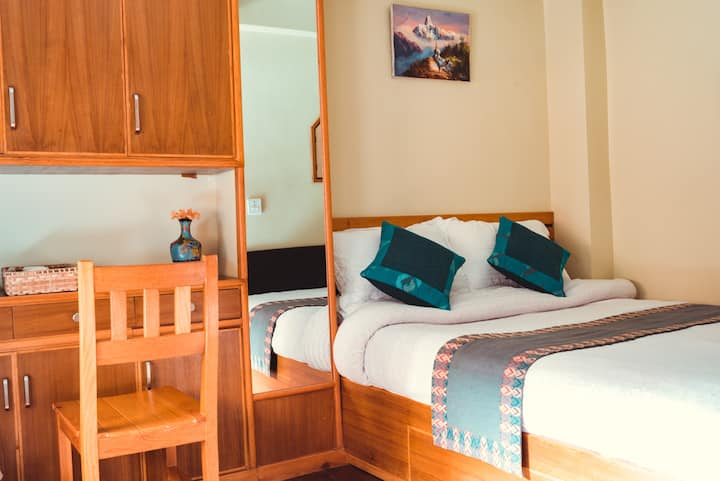 Deluxe Double Room 3 at Green Tara Heritage Home