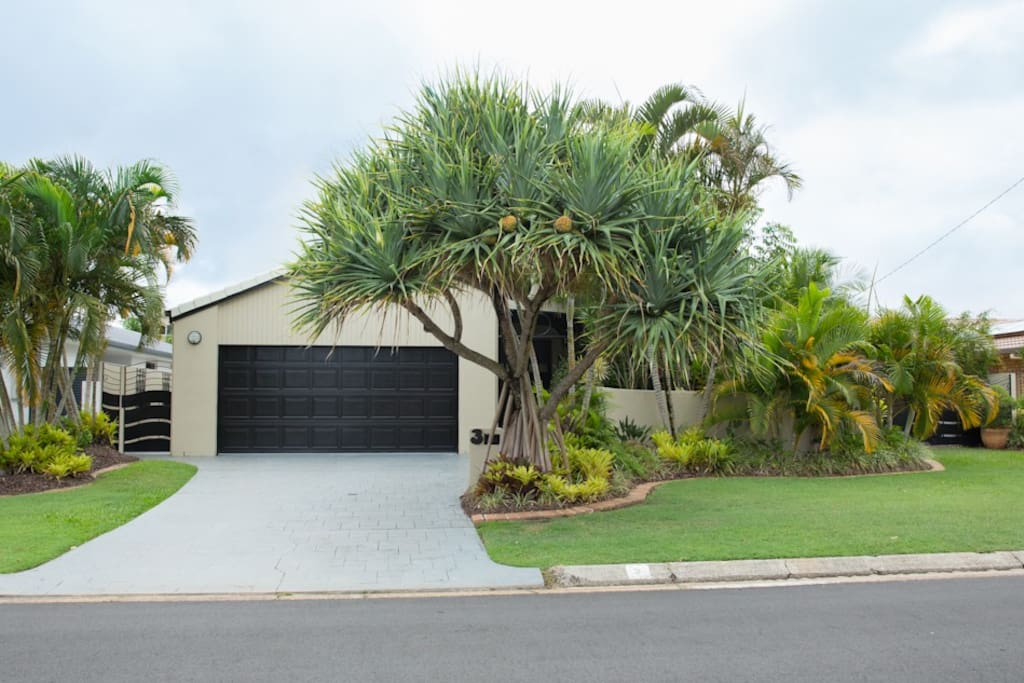 Double remote garage and located on quiet no through road.