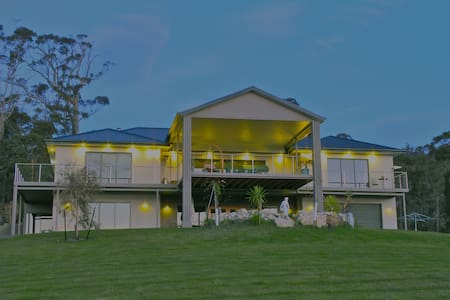 Queen sized  luxury B&B superb view - Huonville - Bed & Breakfast