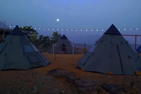 Peponi Mulshi,TentCamping,Lake,BBQ, - Mulshi - Палатка