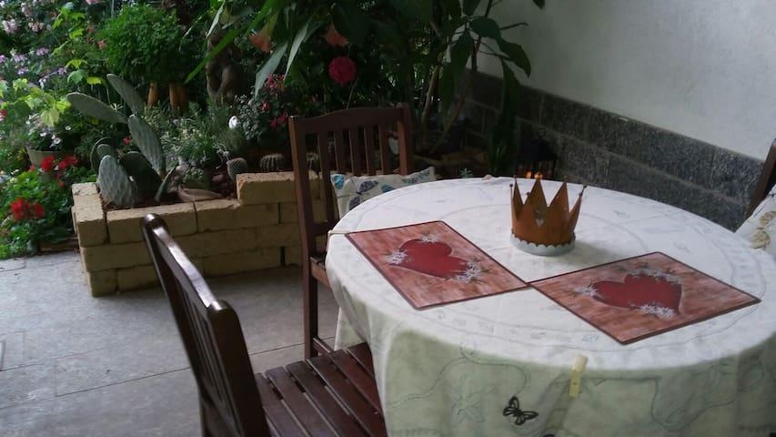 You Can Have dinner in veranda