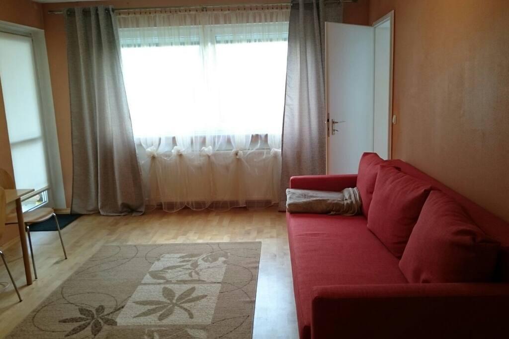 Wohnzimmer (1. Schlafsofa)
