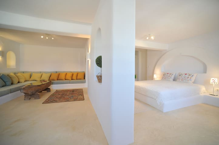 luxury studio Turquoise - Paros - House
