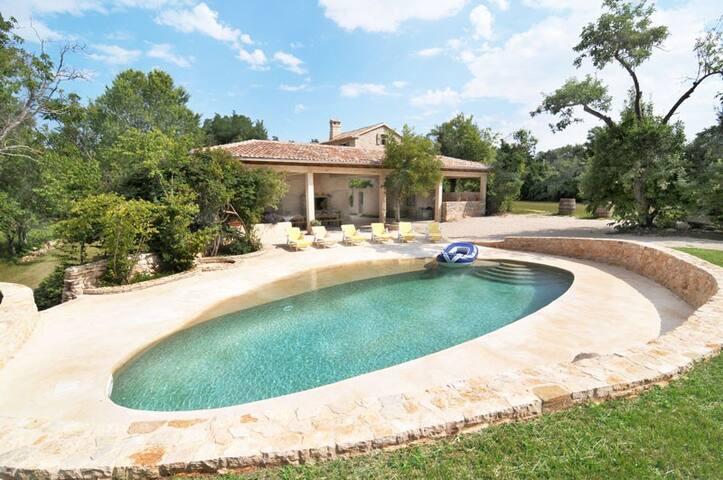 Luxury private villa w/pool - Pazin - Villa