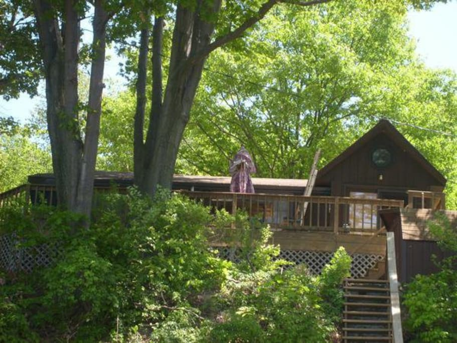 Club seneca retreat cabins for rent in hector new york for Seneca lake ny cabins