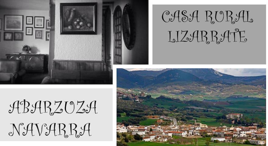 CASA LIZARRATE- Casa Rural en ABARZUZA - Abárzuza - Ev