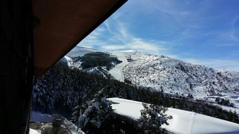 Apartamento estación de esquí y zona de montaña