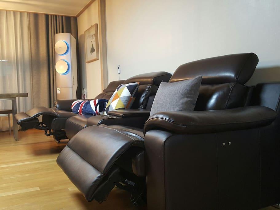 Living room  - Recliner sofa