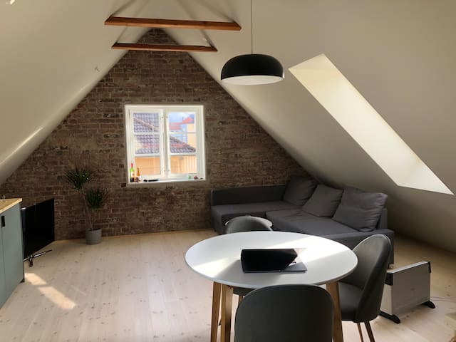 Penthouse studio apartment in the heart of Bergen