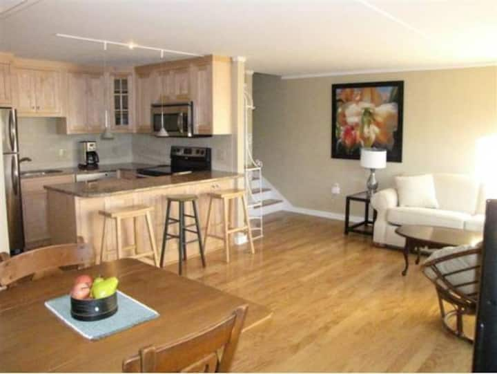 One Bedroom Stowe Condo;  Sleeps 4