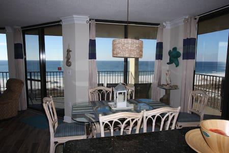 Corner Beachfront WOW VIEWS!RenovatedUpdated,clean - Orange Beach - Wohnung