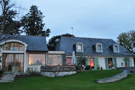 Demeure face Loire, proche Châteaux - Sainte-Gemmes-sur-Loire - Dům