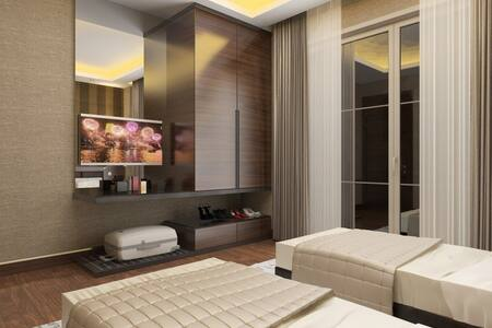 Deluxe King Suite Room - VOICE HOTE - Maçka - Bed & Breakfast