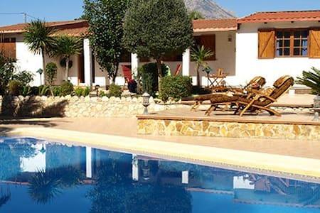 House w private pool near Benidorm - La Nucia