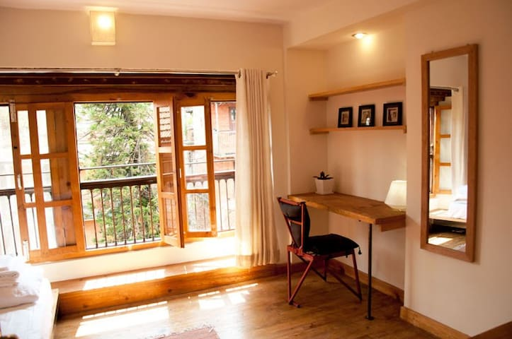 2 rooms unit beautiful Historical Patan - 3rd fl - Kathmandu Patan - Wohnung