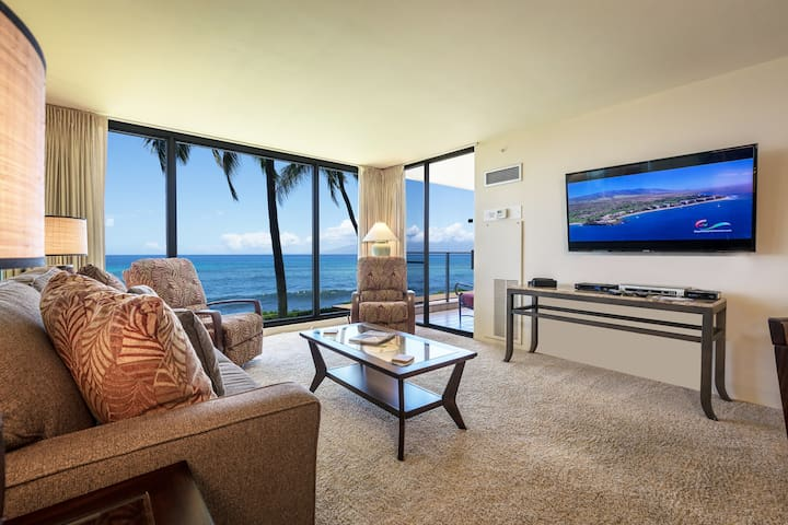 Newly Renov. Mahana Condo 215 Breathtaking Full Ocean View-  Spring Special