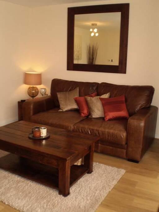 Generous, comfortable living space