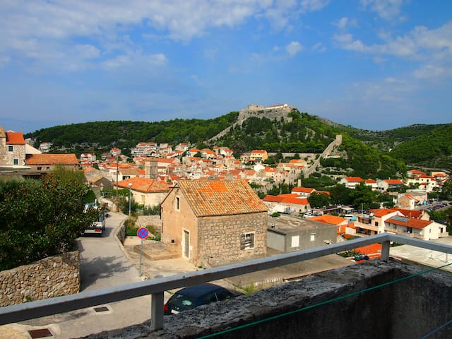 Beautiful view of the town of Hvar