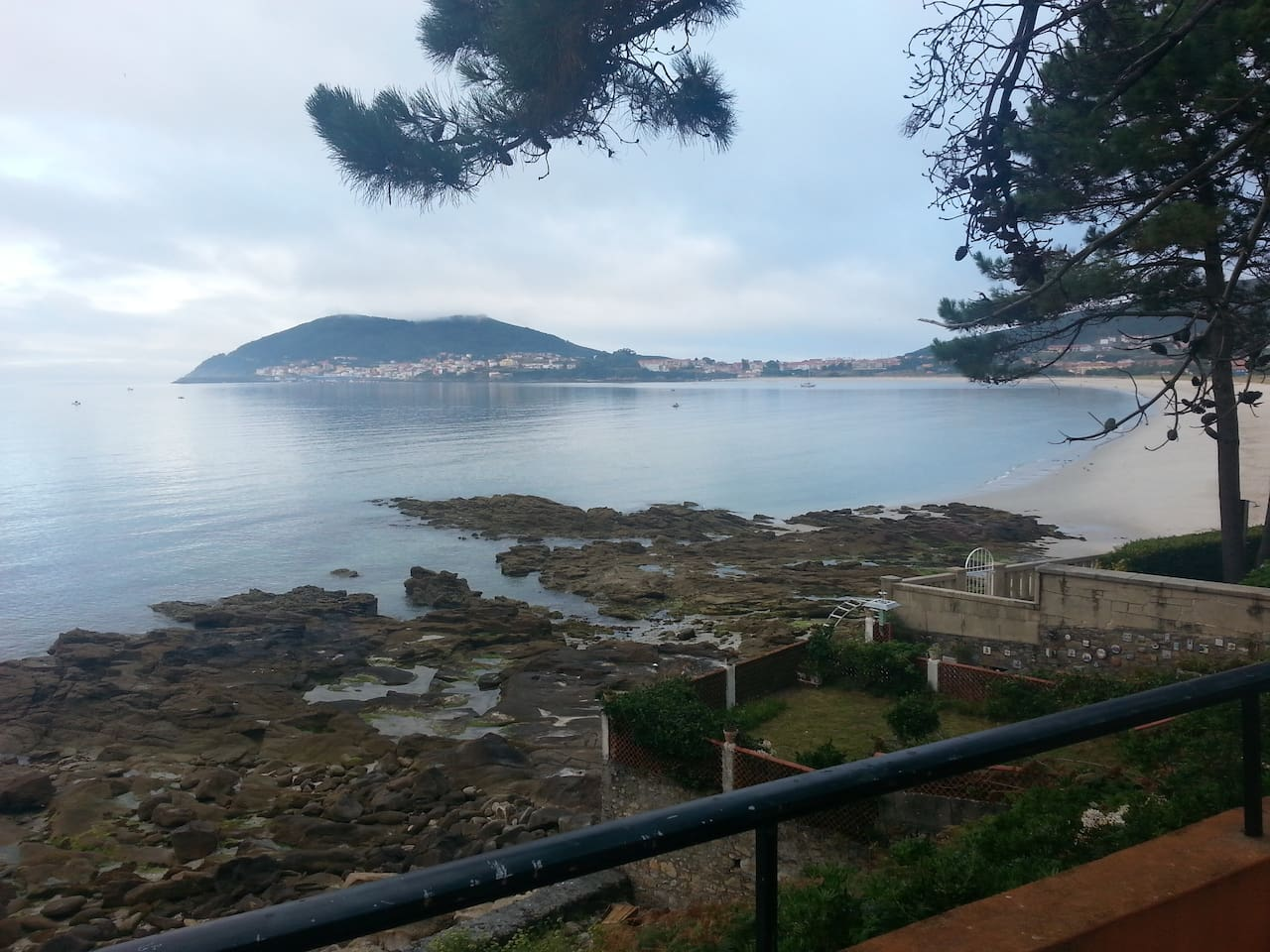 Vista de Finisterre desde Terraza