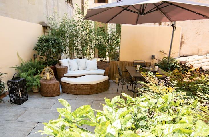 Elegance home Colosseum - Sunny terrace