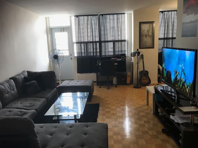 Convenient 1 Bedroom Penthouse next to TTC station
