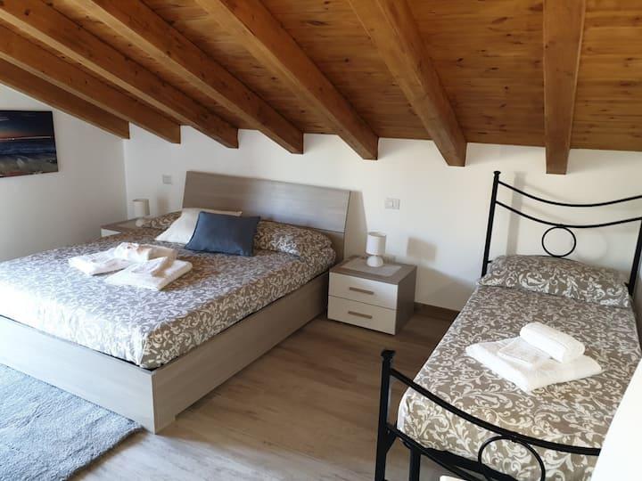B&B Villa Chiara Tripla Stanza 4