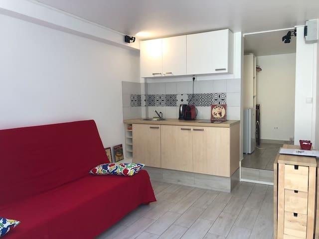 Petit studio cosy proche de Paris et Disney
