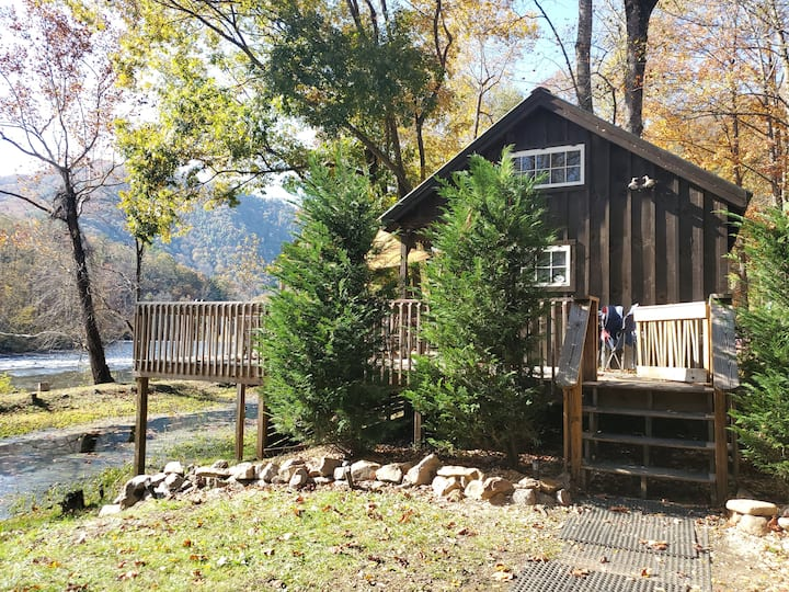 Tiny House on The Nolichucky River