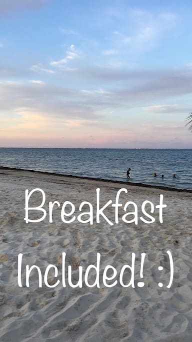 Yes! Breakfast at 8:00 am every day!