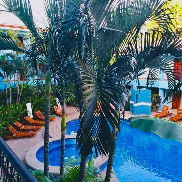 Costa Rica. The  Coco Beach. pool. Hotel