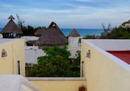 Steps from Beach, Bars and gggg!yhh - Playa del Carmen - Apartment