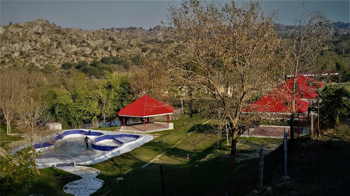 Prakriti Farm Swiss Cottage Tents, Rupnagar
