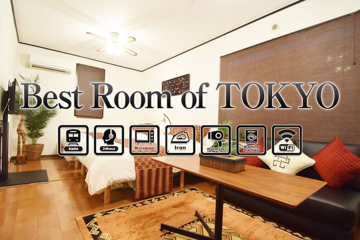 OPENING SALE40%OFF!5min walk to ROPPOGI!Up to 6PPL - Minato-ku - Apartment