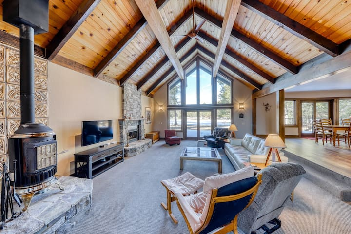 New listing! Newly remodeled home on golf course, near skiing, hiking & biking