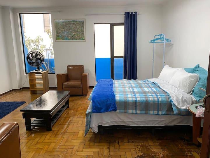 Apartamento Completo 2 pessoas 10 minutos do Brás