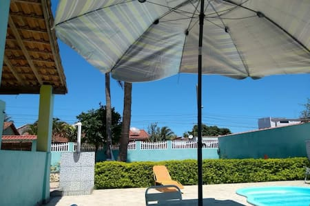 Espaço Lazer Iguaba, Piscina privada!