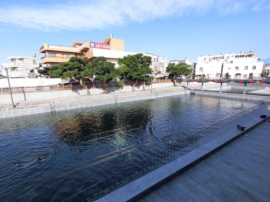 台東市立湧泉游泳池 Natural fountain swimming pool