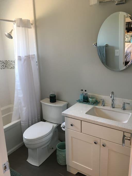 Attached private bath